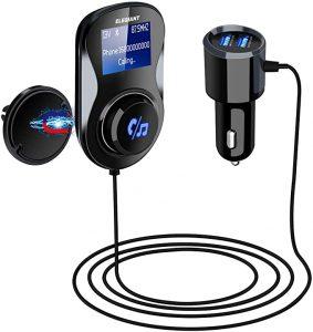 Beispiel für einen FM-Transmitter: Elegiant Bluetooth FM Transmitter